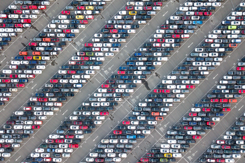Imported Cars - Avonmouth Docks, Bristol - 2017