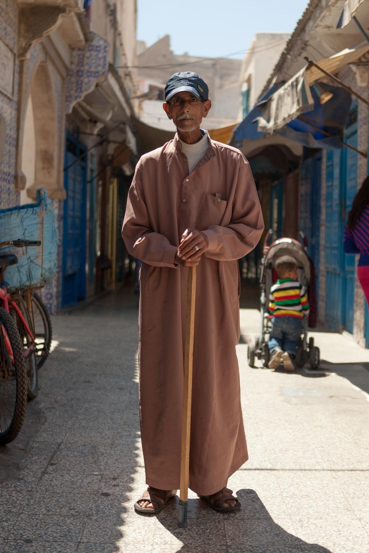 Street Portrait - Essaouira, Morocco - 2016_