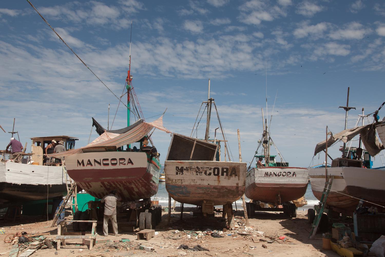 Fishing Boats - Mancora, Peru - 2015