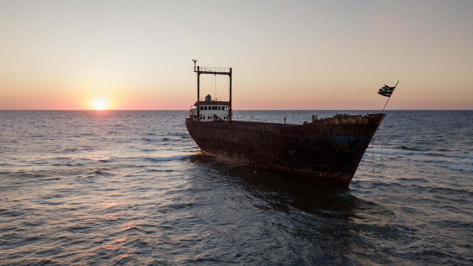 Wreck of MV Demetrios II - Paphos, Cyprus - 2017