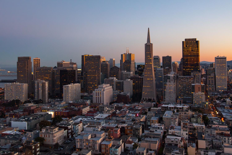 Skyline - San Francisco, California - 2015
