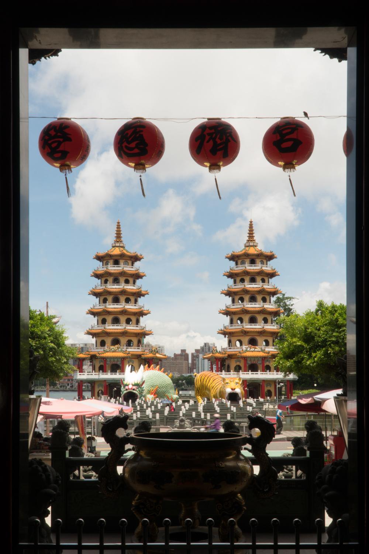 Dragon & Tiger Pagodas - Kaohsiung, Taiwan - 2017