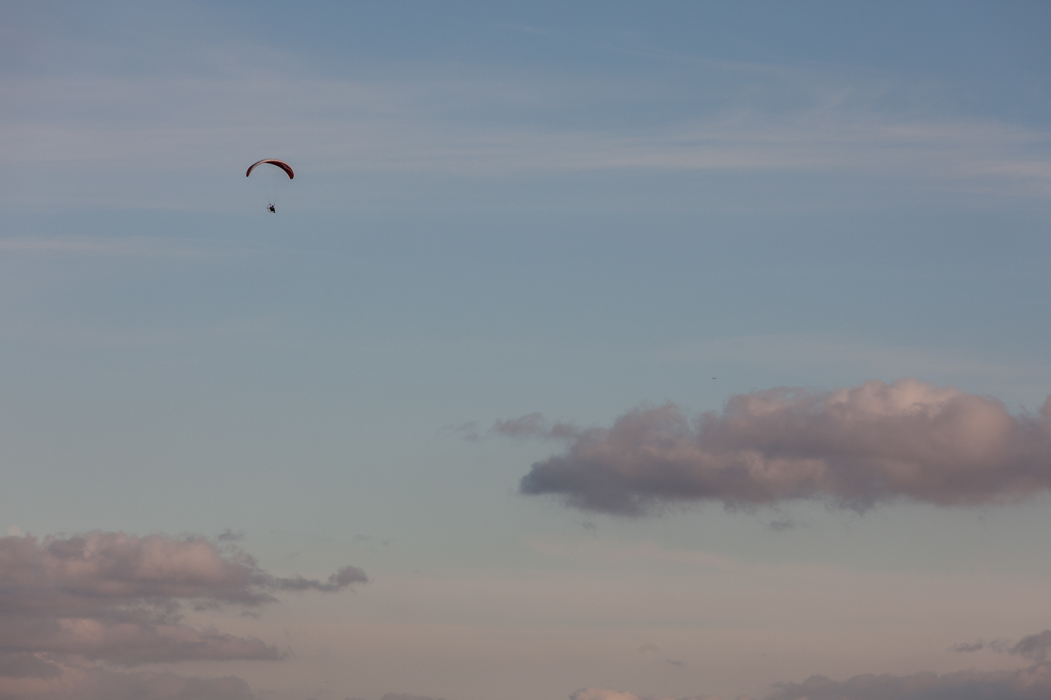 Paraglider - South Downs, East Sussex - 2016