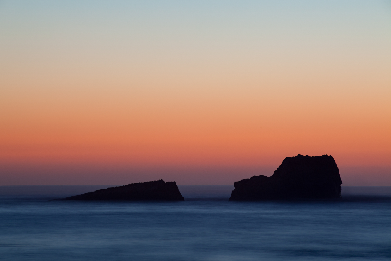 Sunset at Sea - Carmel, California - 2013