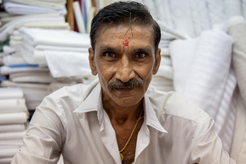 Merchant - Hindmata Cloth Market, Mumbai - 2014