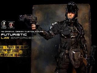 Original Design Futuristic Law Enforcement in 1:6 one sixth scale by Calvin's Custom @ Cyborg Co
