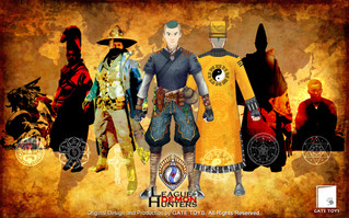 GATE TOYS League of Demon Hunters Chapter 2 coming soon
