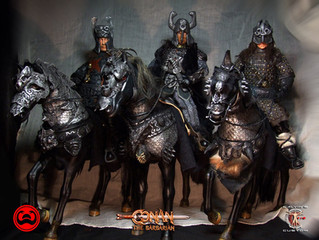 Calvin's Custom 1:6 One Sixth Scale Riders of Doom from Conan the Barbarian 1982