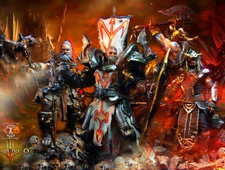 Diablo 3 Trio on Game Cinematic