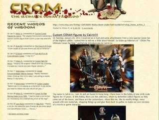 Calvin's Custom Conan the Barbarian figures feat. on ultimateconanfan.blogspot