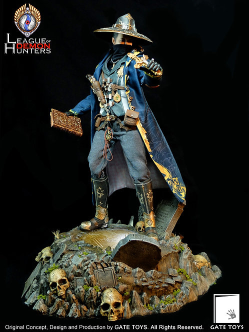 """GATE TOYS  """"League of Demon Hunters"""" 1/6 Figure with Diorama"""