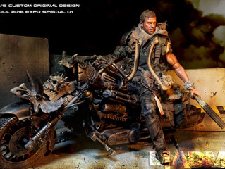 "Calvin's Custom 1:6 One Sixth Scale TOYSOUL 2016 expo special 01 ""MAD MAX on Bike"""