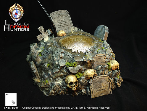 "1/6 ""Tomb of Dracula"" Diorama Base"