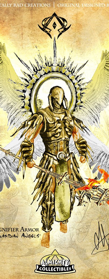"Barachiel in ""Signifier"" Armor ~ ""Chief of Guardian Angels"""