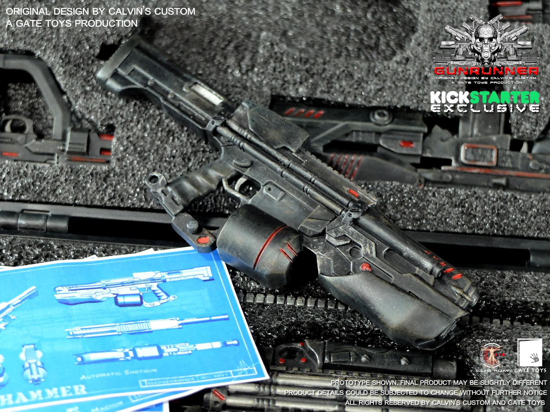 SLEDGEHAMMER - Black Ops Paint