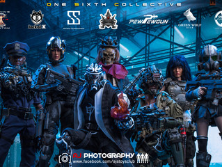 One Sixth Collective Crossover Showcase photography by AJ's Toys World