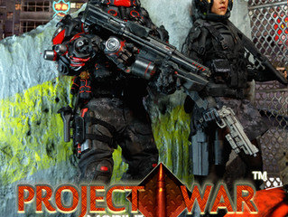 "Project War Mobile: Calvin's Custom X JackalX @ ""AFA - ANIME FESTIVAL ASIA, Jarkata&quot"