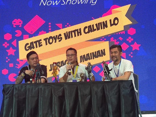 Calvin's Custom ON STAGE sharing about One Sixth Arts and Customization @ Indonesia Comic Con 20