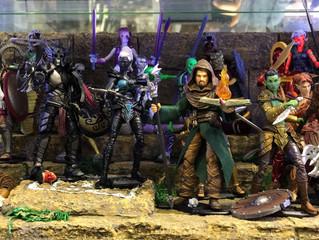 Boss Fight Studio 1/18 Fantasy Series Wave 1 & 2 on display @ SEVEN Toys Mongkok, Hong Kong