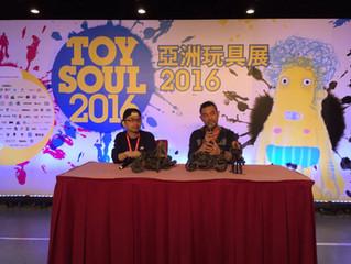 Calvin's Custom TOYSOUL Hong Kong 2016 Expo Special