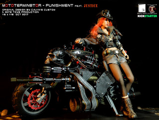 Calvin's Custom X GATE TOYS 1:6 MOTOTERMIN8TOR  - Punishment
