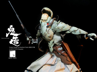"""BeMaul"" Series Part 1: ""Zhuó""  1/6 One Sixth Scale Original Design Collectible Action Figure by Gho"