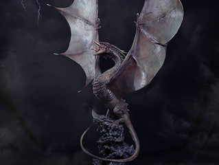 024Studio Fantasy Dragon Statue debut @ ACGHK 2018