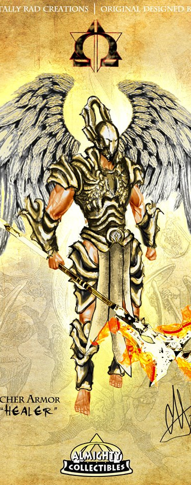 """Raphael in """"Watcher"""" Armor ~ """"Healer"""""""