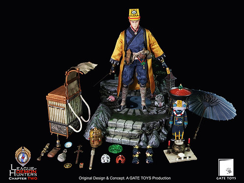 "GATE TOYS ""League of Demon Hunters"" Chapter 2 Juan Tin Ming DELUX (30 sets ONLY)"