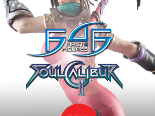 19.5 inches tall TAKI statue from Soulcalibur II by First 4 Figures @ Toysoul 2017