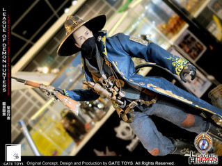 "GATE TOYS 1/6 One Sixth Scale Original Concept, Design & Production ""League Of Demon Hunter"