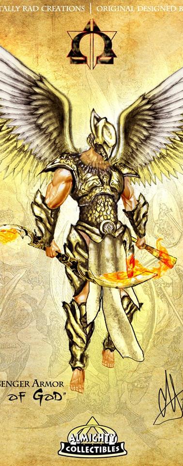 "Raguel in ""Hammer"" Armor ~ ""Justice"""