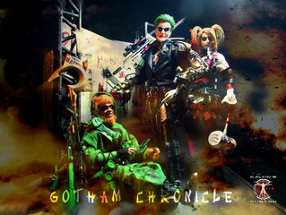 Calvin's Custom 1/6 one sixth original design Gotham Chronicle Custom Figures (Joker, Harley Qui