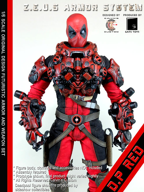 Z.E.U.S DP RED Armor and/or Weapon Set