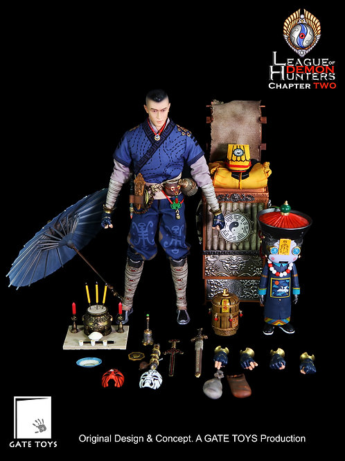 "GATE TOYS ""League of Demon Hunters"" Chapter 2 Juan Tin Ming + Baby Vamp"