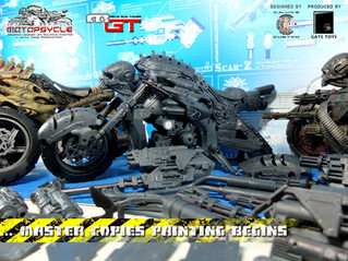 "GATE TOYS X Calvin's Custom 1/6 scale Original Design ""MOTOPSYCLE:mGT"" in production"