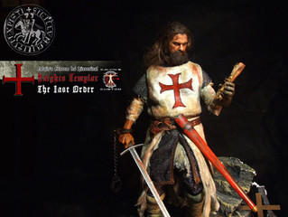 """Calvin's Custom 1:6 one sixth scale Historical Figure: """"Knights Templar The Last Order&quot"""