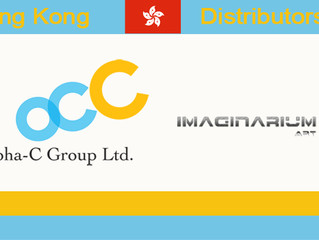 Imaginarium Art is now represented by Alpha-C in Hong Kong.