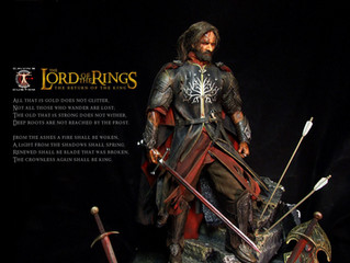 Calvin's Custom 1:6 one sixth scale custom The Lord of the Rings Aragorn as King of Gondor