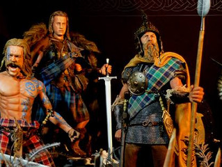 Kaustic Plastik Scottish Lord & Celtic Warriors customized by Calvin's Custom