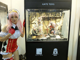 Cosplayers (Cosers) supports GATE TOYS' Original Design Collectibles @ CICF2017