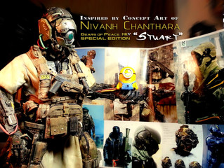 "Calvin's Custom Gears of Peace MkV ""Nivanh Chanthara"" inspired special edition"