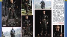 threezero Game of Thrones 1/6 Brienne of Tarth featured in Model Kit World Vol. 328