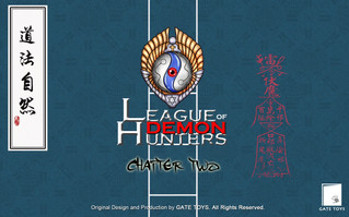 "GATE TOYS Original Design ""League Of Demon Hunters"" Chapter 2 Concept Arts"