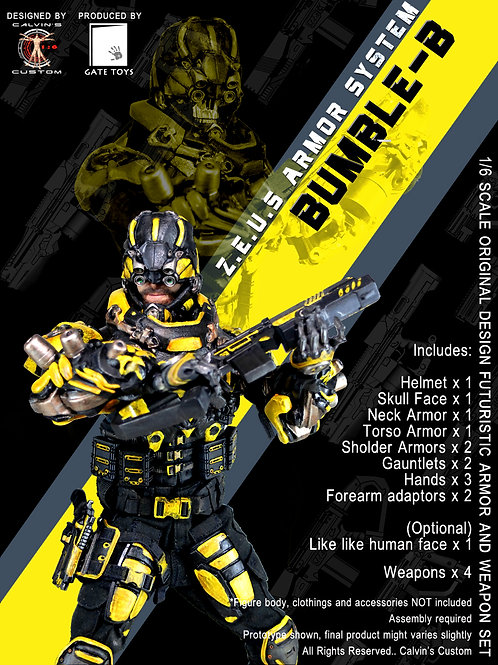 Z.E.U.S BUMBLE-B Armor and/or Weapon Set