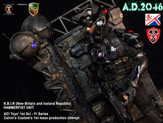 Calvin's Custom x ACI Toys NBIR Hammerfist 1:6 one sixth scale future soldier series to be mass
