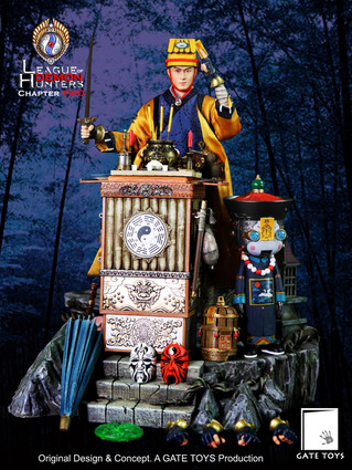 "GATE TOYS original design series ""League of Demon Hunters"" Chapter 2 Maoshan Taoist Priest"