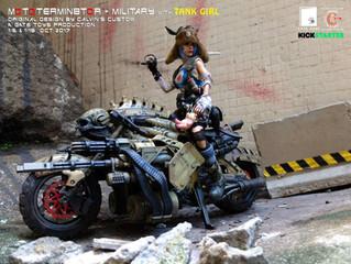 Calvin's Custom X GATE TOYS 1:6 MOTOTERMIN8TOR with custom TANK GIRL