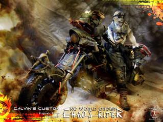 "Calvin's Custom 1:6 Original Design ""Chaos Rider"" of ""No World Order"""