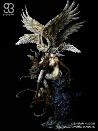 "GATE TOYS proudly presents ""Sirene"" from Go Nagai's Devilman (惡魔人), Katsuya Terada (寺田"
